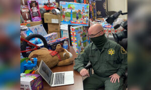 Deputy Who Was Abandoned as a Baby Donates Gifts to Shelter That Took Him In 47 Years Ago