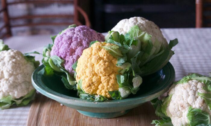When you're grocery shopping, look for heads of cauliflower that are unblemished with no soft spots. (Victoria de la Maza)
