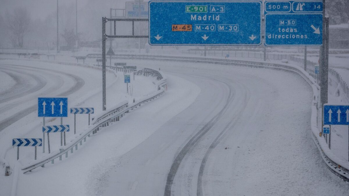 Spain heavy snow