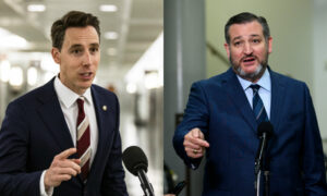 Senate Democrats File Complaint Against Hawley, Cruz Following Capitol Violence
