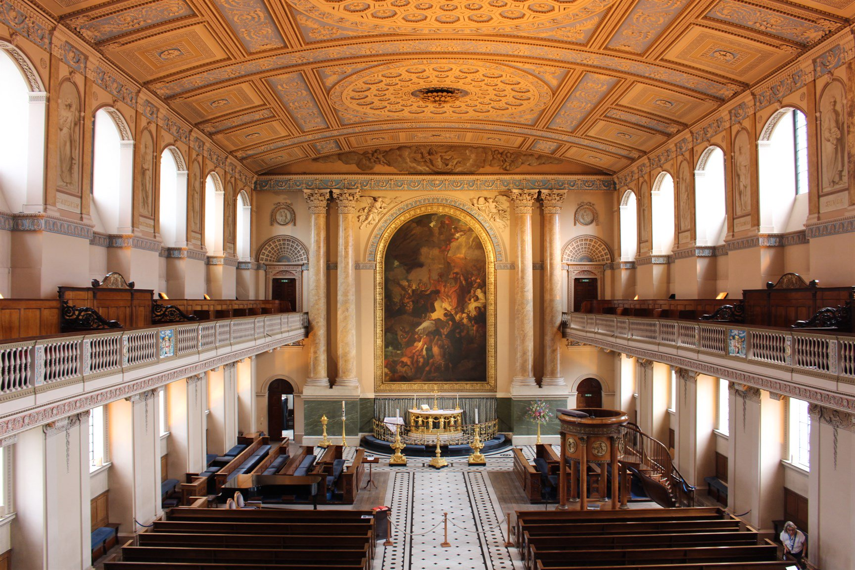 Chapel-of-St-Peter-and-St-Paul-Old-Royal-Naval-College