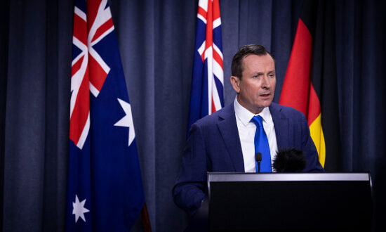 Western Australia Government Takes Over Homeless Camp