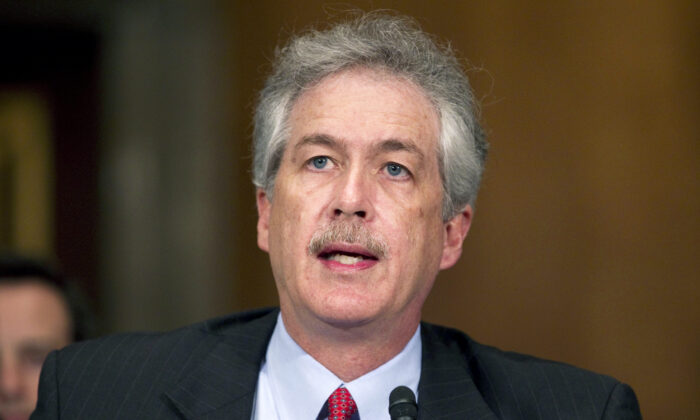 William Burns testifies on Capitol Hill in Washington on May 24, 2011. (Evan Vucci/AP Photo)