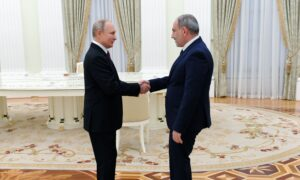 Armenian, Azerbaijani Leaders Meet in Russia for Talks