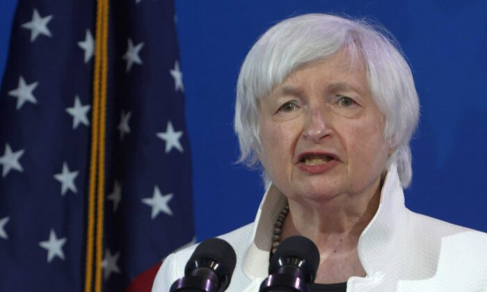 Treasury Secretary nominee Janet Yellen speaks during an event to name President-elect Joe Biden's economic team at the Queen Theater in Wilmington, Del., on Dec. 1, 2020. (Alex Wong/Getty Images)