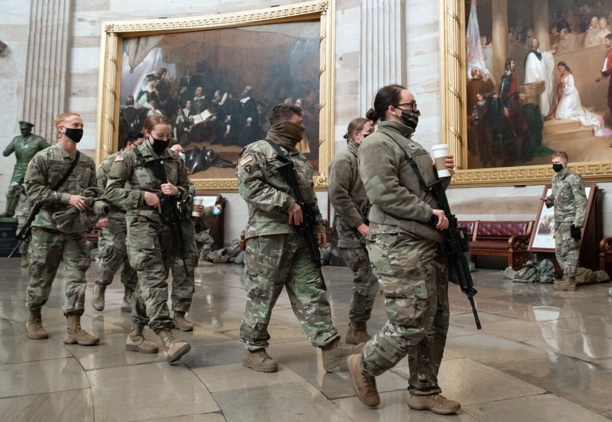 Up to 25,000 National Guard in DC for Inauguration