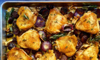 Sheet Pan Comfort: A One-Pan Chicken Dinner