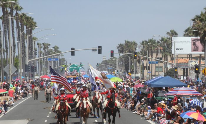This photo, taken by Huntington Beach spokesperson Julie Toledo, shows the city's July 4 festivities during a previous year. (Courtesy of the City of Huntington Beach)