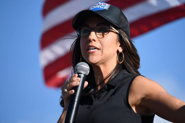 Lauren Boebert, the Republican candidate