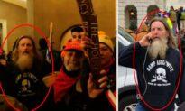 Man Seen Wearing 'Camp Auschwitz' Sweatshirt During Capitol Breach Arrested