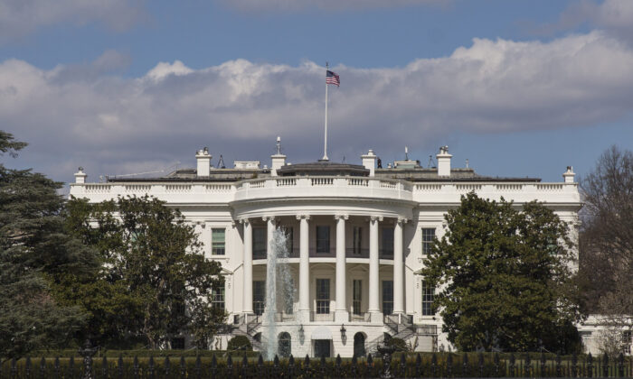 The White House in Washington in a file photo. (Samira Bouaou/The Epoch Times)