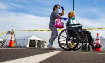 Seniors, Health Workers Flood Disneyland for Vaccine Despite Tech Troubles