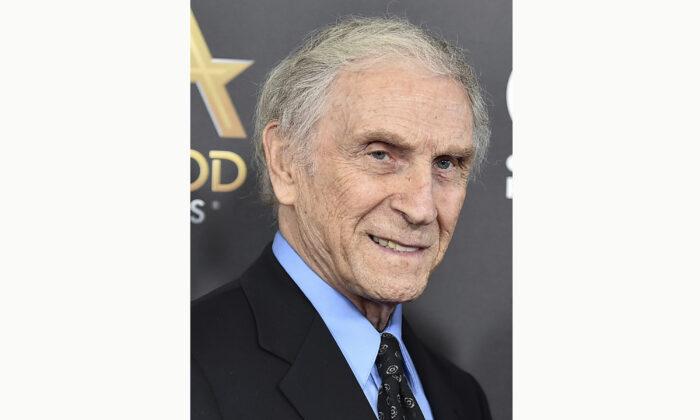 """Peter Mark Richman arrives at the Hollywood Film Awards in Beverly Hills, Calif., on Nov. 1, 2015. Richman, a character actor who appeared in hundreds of television episodes and had recurring roles on """"Three's Company"""" and """"Beverly Hills 90210,"""" has died. (Jordan Strauss/Invision/AP Photo)"""