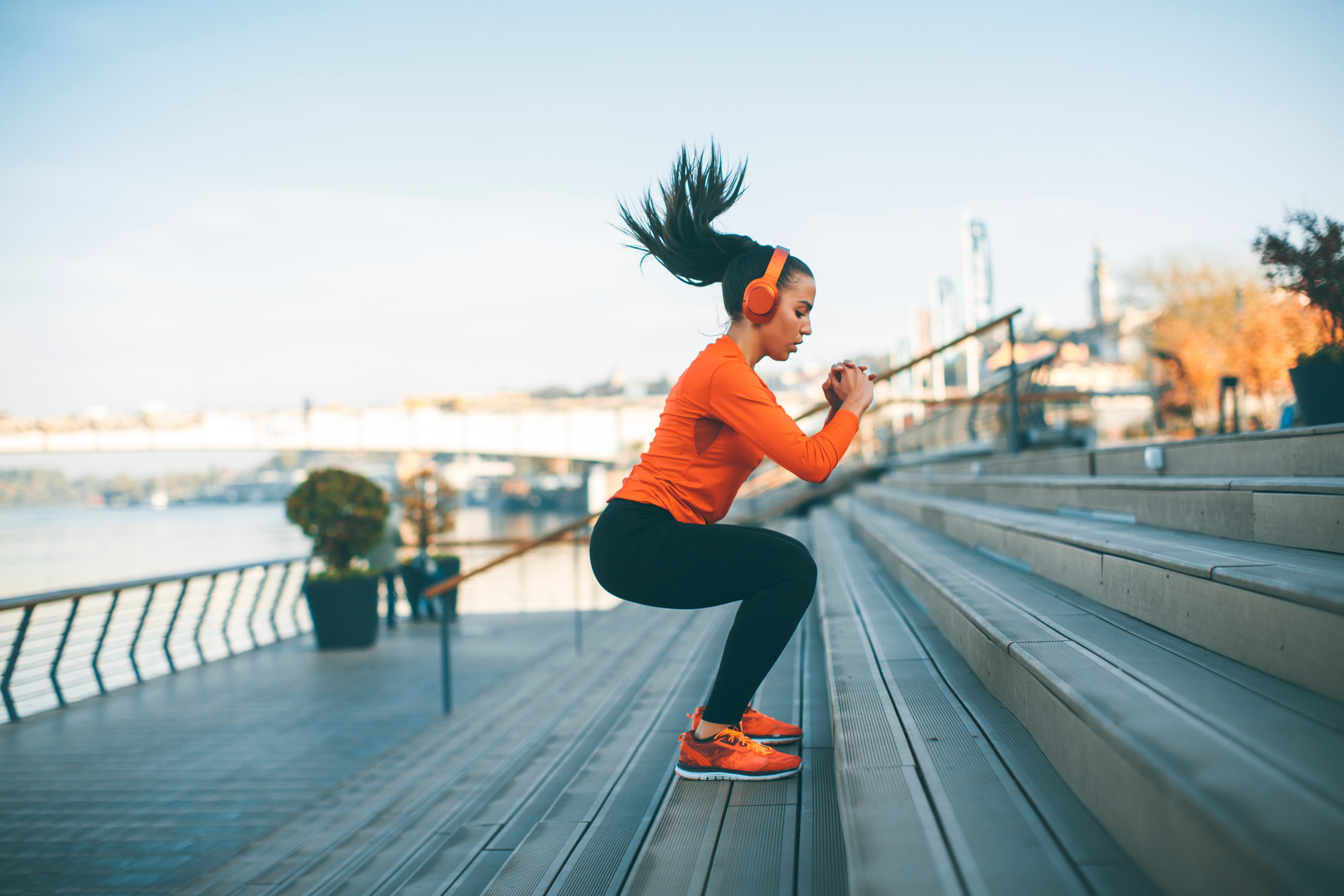 There is plenty of room outside to go exercise A habit of short bursts of exercise can have a notable impact on your mental function later in life. (Goran Bogicevic/Shutterstock)