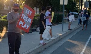High School Athletes Rally in Fullerton for Outdoor Sports