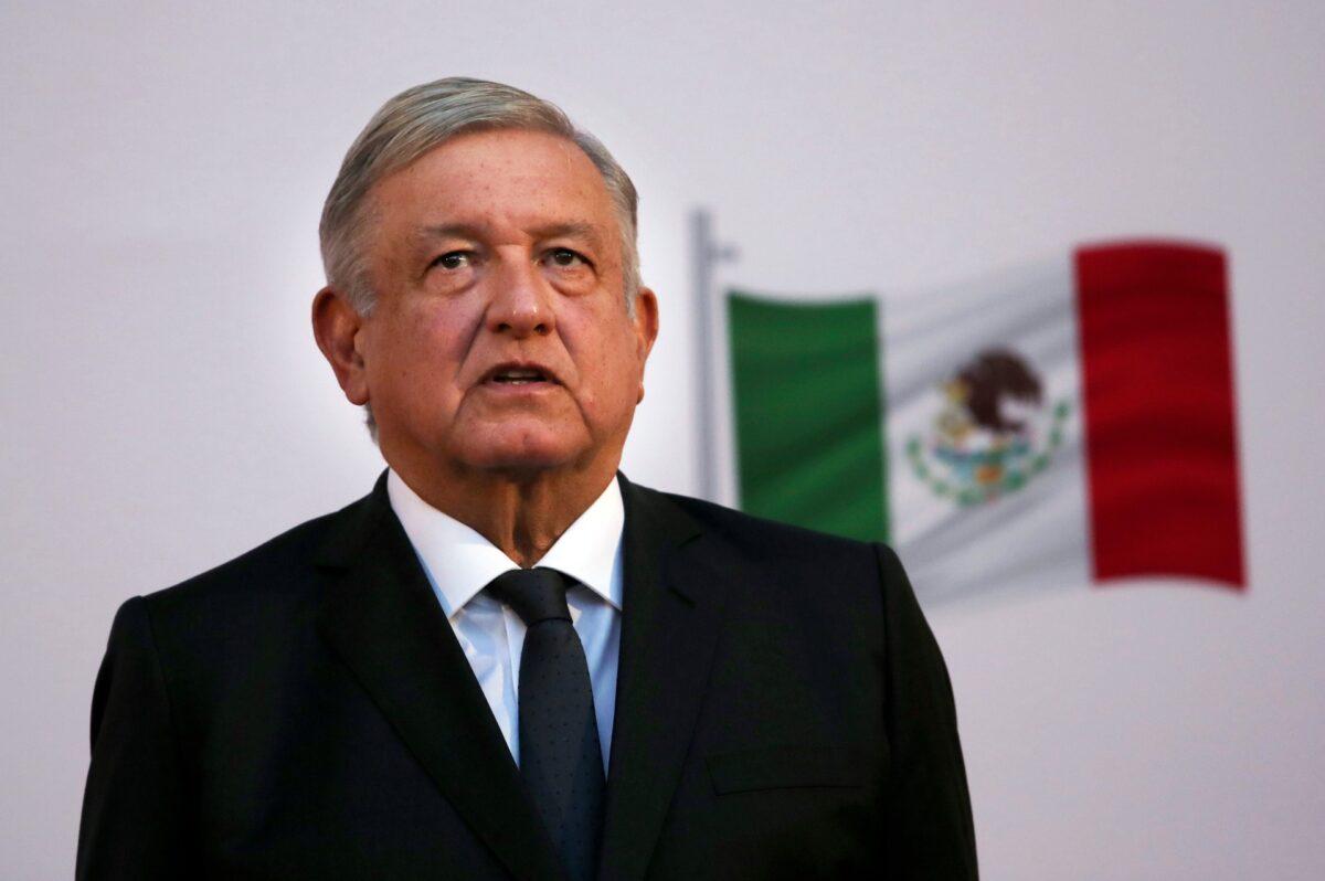 Mexican President Andrés Manuel López