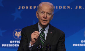 Biden Priorities for First 10 Days in Office Include 'Systemic Racism,' 'Climate Crisis'
