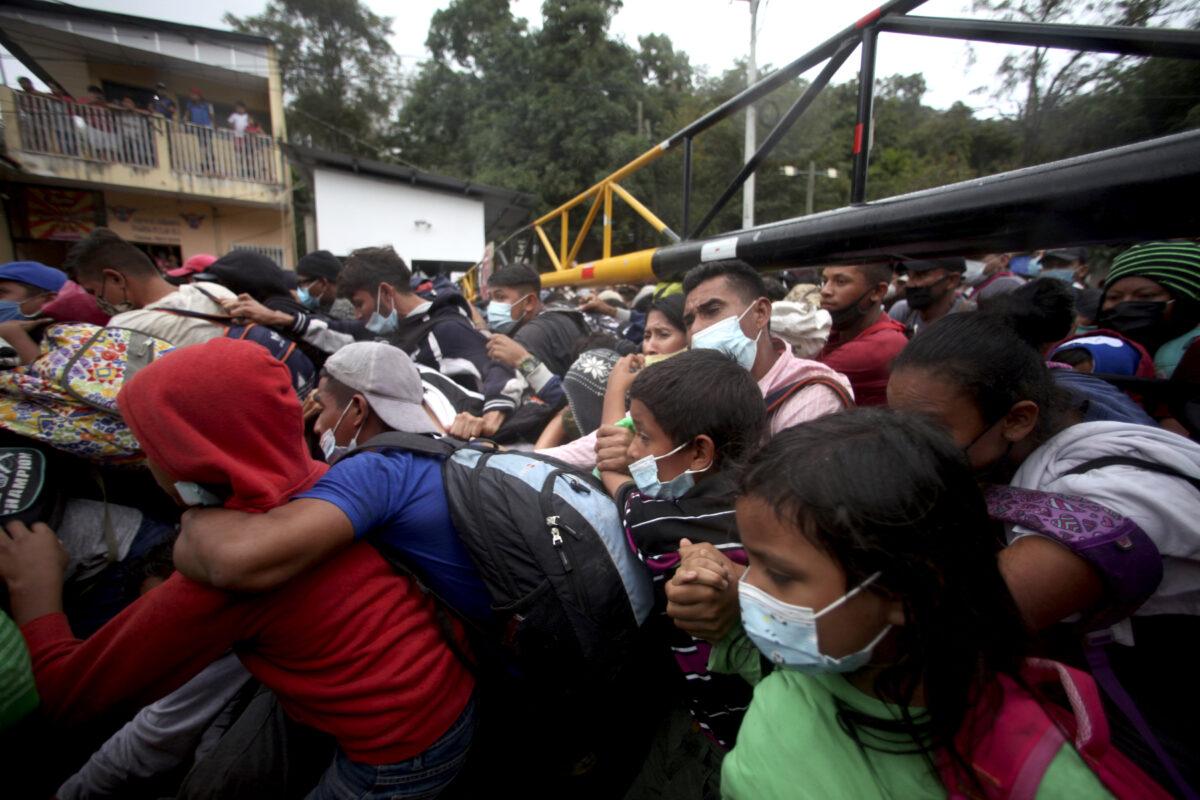 Guatemala Honduras Migrants