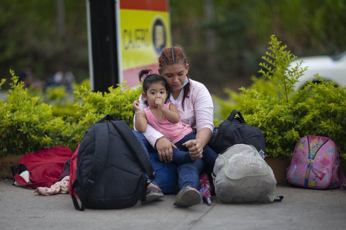 Migrants in Guatemala
