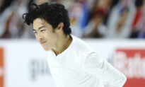 4-Time US Figure Skating Champ Wins Short Program With Ease