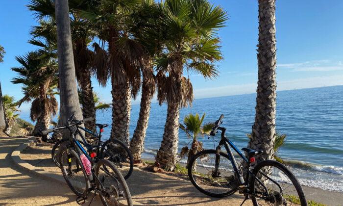 Coastal bicycling is one way to enjoy the natural wonders of Santa Barbara, Calif. (Courtesy of Margot Black)