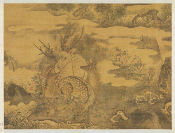 deer-chinese painting
