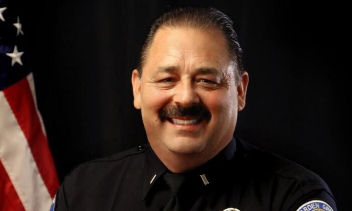 Garden Grove Police Department Lt. John Reynolds died from COVID-19 related complications, the department said Jan. 17, 2021. (Courtesy of the Garden Grove Police Department)