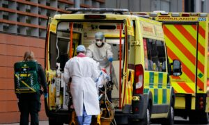 UK Reports 1,820 CCP Virus-Related Deaths, Setting New Daily Record