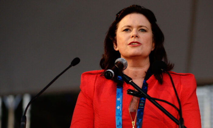 Margy Osmond in Sydney, Australia Oct. 18, 2009. (Sydney 2009 World Masters Games via Getty Images)