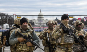 Washington Under Lockdown: A Tour of the Capitol Under Military Watch