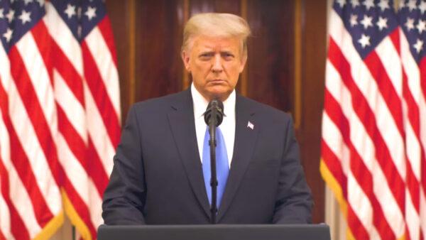 Trump's farewell speech