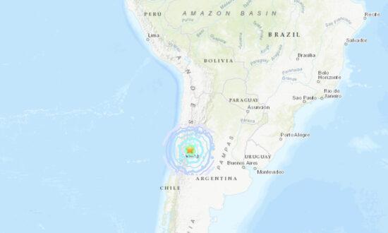 Magnitude 6.4 Earthquake Strikes Northwestern Argentina: USGS
