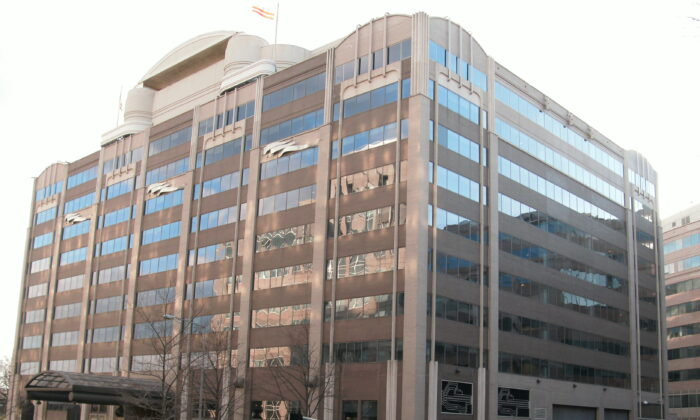 The Federal Communications Commission building in Washington, on Feb. 21, 2009. (Ser Amantio di Nicolao/CC by 3.0)