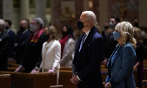 Biden, Harris Attend Church on Inauguration Day