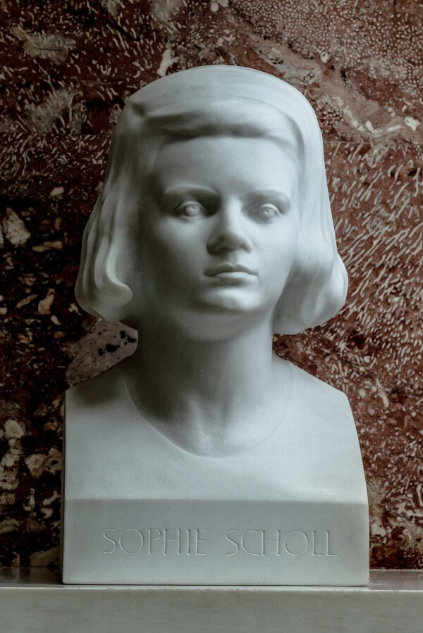 bust of Sophie_Scholl