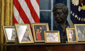 Biden Removes Andrew Jackson Portrait, Churchill Bust, Military Flags in Oval Office Decor Shakeup