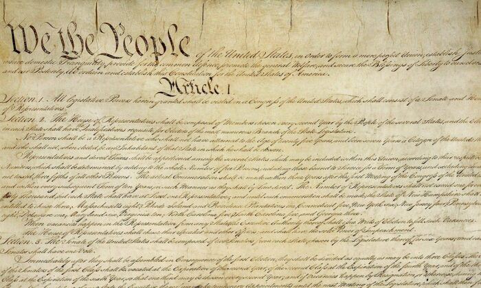 A replica of the U.S. Constitution. (WikiImages/Pixabay)