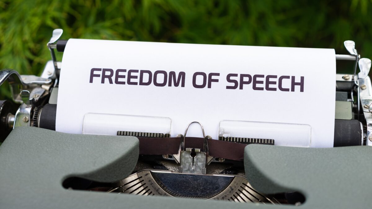 Free Speech Shouldn't Just Be the Domain of Politicians