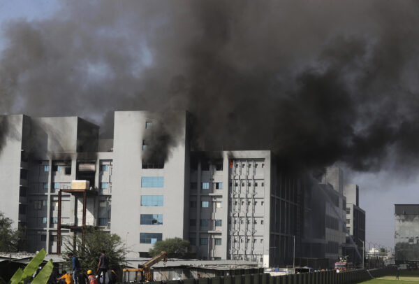 5 Killed in Blaze at Indian Producer of CCP Virus Vaccine