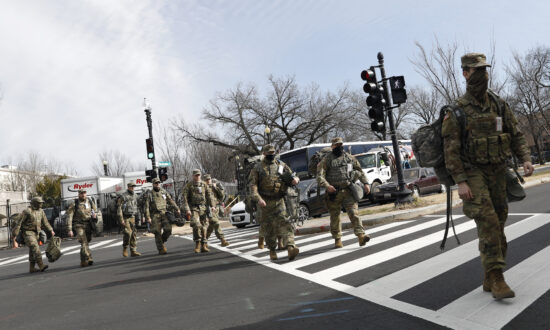 National Guard Troops Return to Capitol After Being 'Banished' to Parking Garage