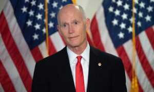 Rick Scott Says He'll Back GOP Incumbents Over Trump Challengers