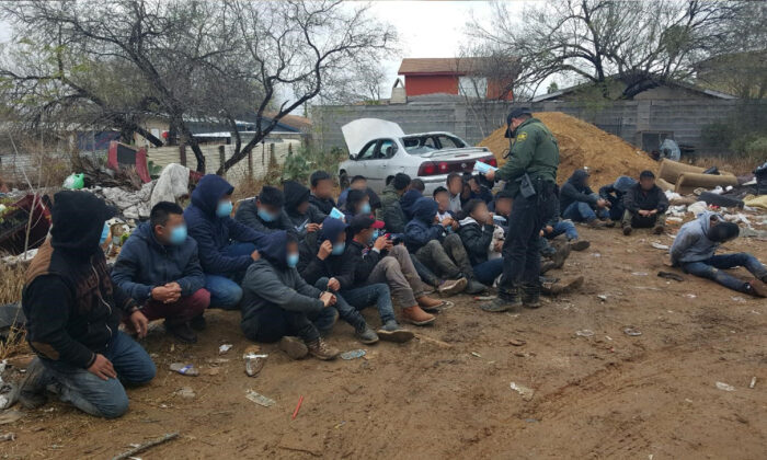 Laredo Sector Border Patrol Agents shut down a stash house in Rio Bravo, Texas, on Jan. 20, 2021. (Courtesy of U.S. Customs and Border Protection)