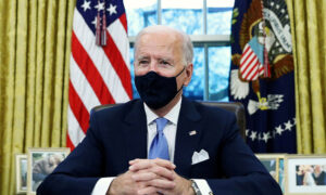 Biden Hints at Pandemic Restrictions Through 'Early Fall,' Says It Won't Take 'Two Months'