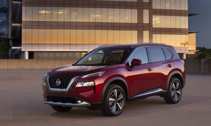2021 Nissan Rogue. (Courtesy of Nissan)