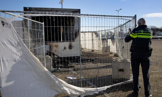 Rioting Youths in Dutch Village Torch Virus Testing Center