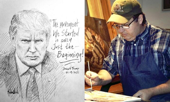 "(L) ""Just the Beginning""; (R) Jon McNaughton (Courtesy of Jon McNaughton)"