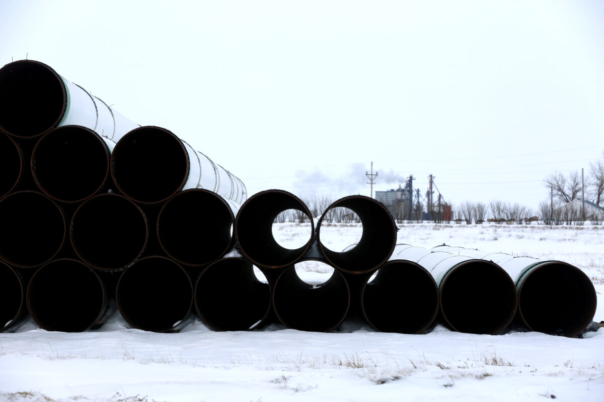 Keystone XL oil pipeline