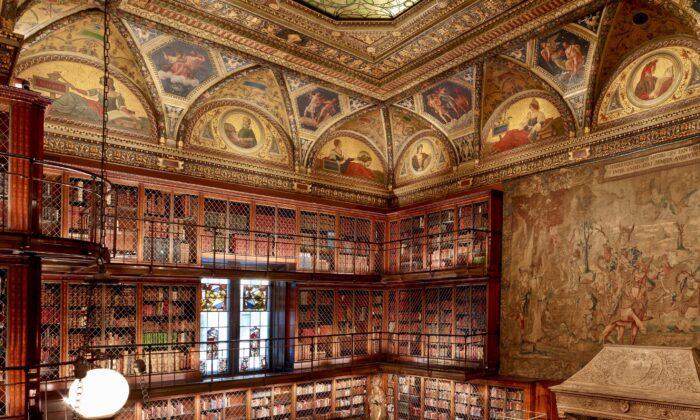 John Pierpont Morgan's library. (Graham Haber, 2014/The Morgan Library & Museum)