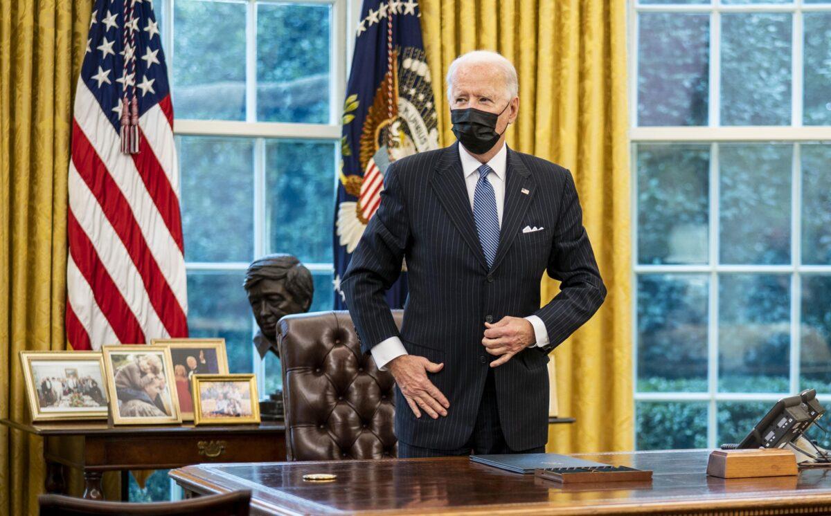 Biden Opens Door to Men Who Identify as Women to Enter Women's Sports, Bathrooms, Locker Rooms