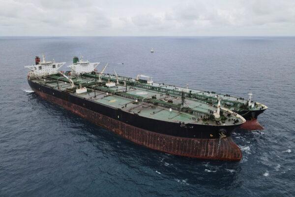 Panamanian-flagged MT Freya and the Iranian-flagged MT Horse vessels